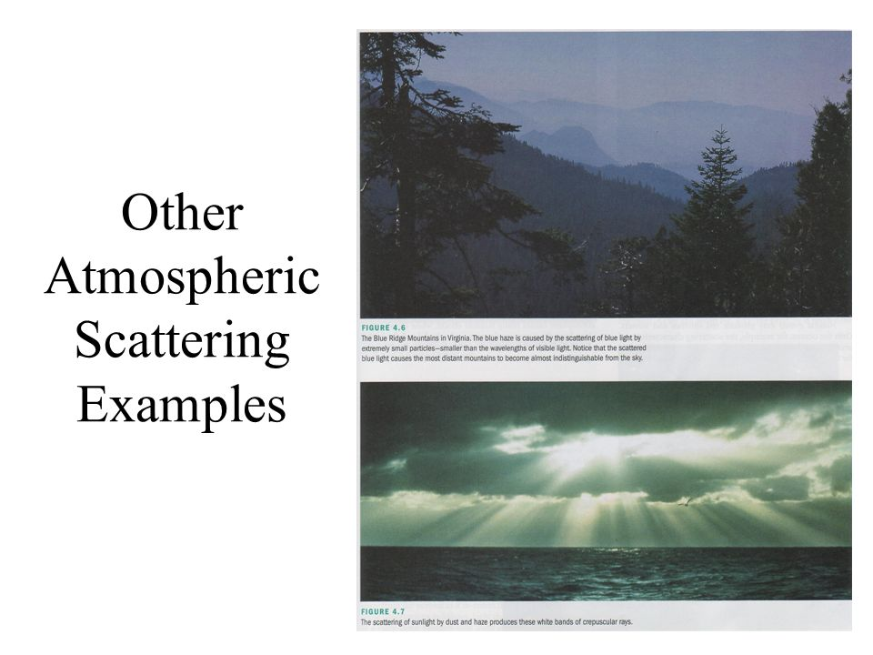 Other Atmospheric Scattering Examples