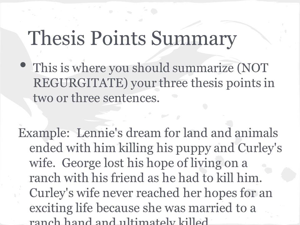 of mice and men literary analysis