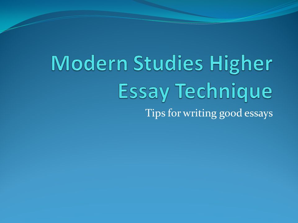 Tips For Writing Good Essays The Essay Structure The Essay Needs A   Tips For Writing Good Essays