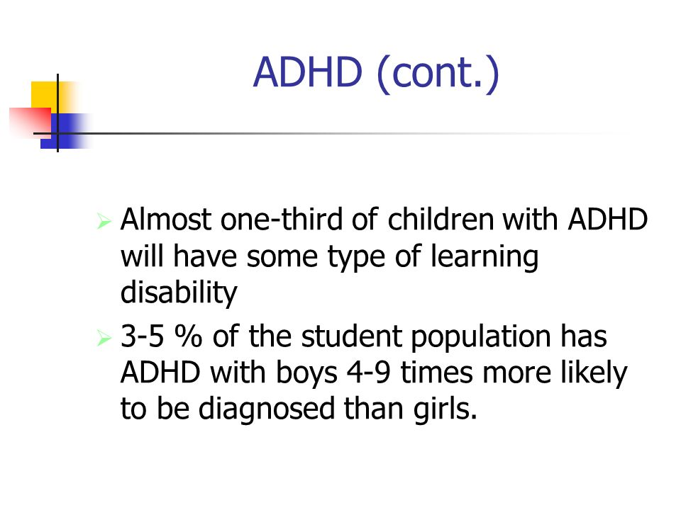 One Third Of Children With Adhd >> What Are Attention Disorders Attention Deficit Disorders Are A