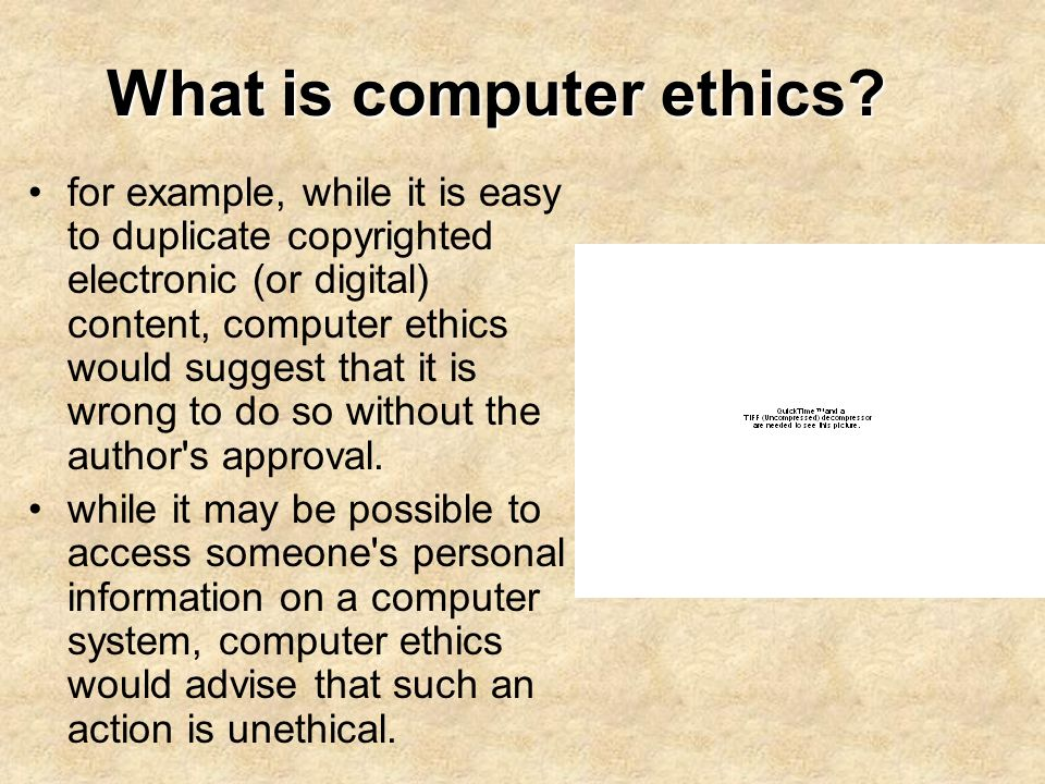 10 examples of computer ethics