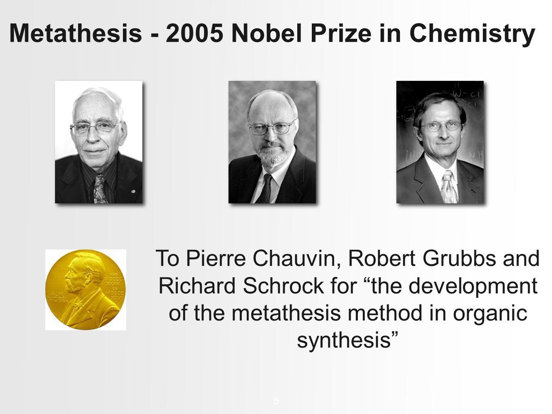 Nobel Prize in Chemistry - The