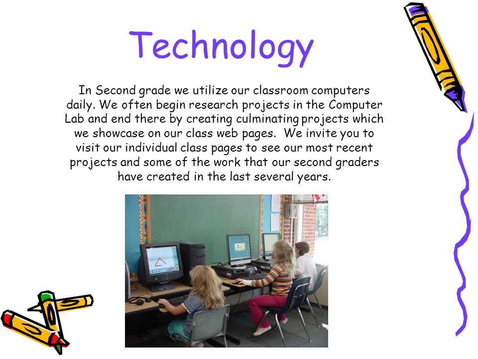 Welcome to second grade second grade is a year of transition and technology in second grade we utilize our classroom computers daily freerunsca Images