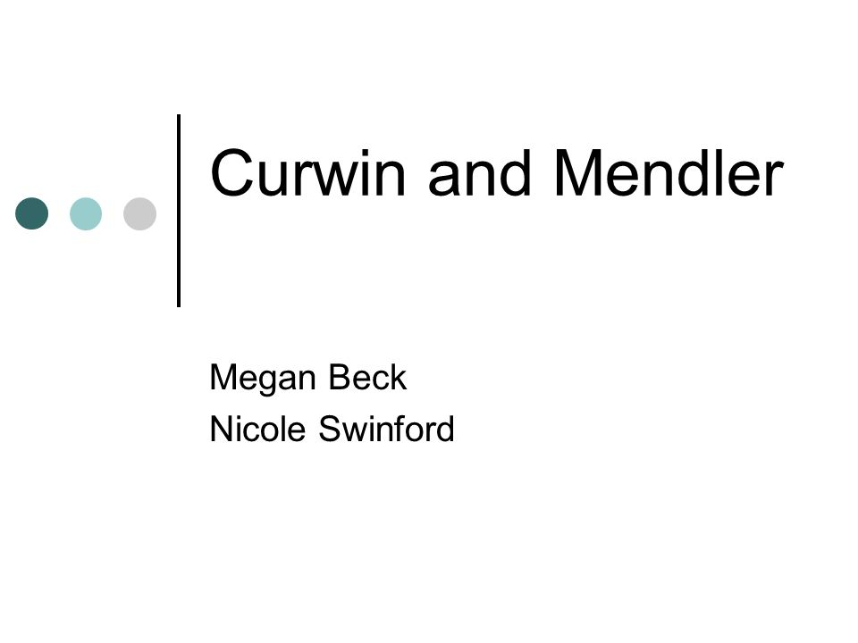 Curwin and Mendler Megan Beck Nicole Swinford