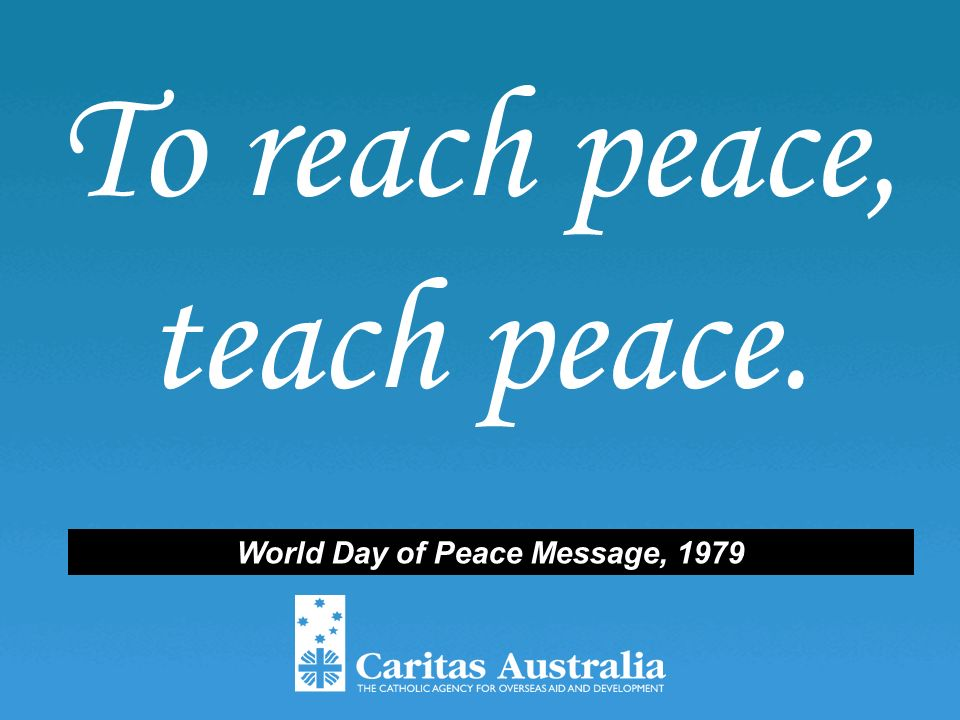 Quotes Of Peace Justice By Pope John Paul Ii Source Ppt Download