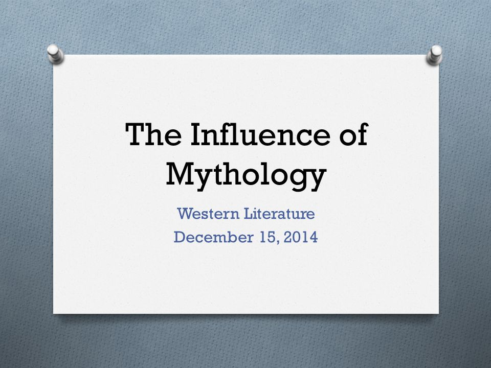 how mythology affects culture