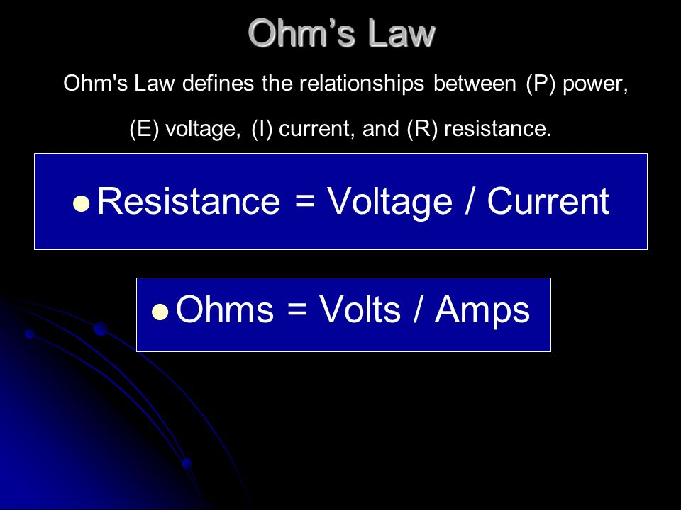 Difference between Volts and Amps Example – you could say that… Example – you could say that… Amps measure how much water comes out of a hose.
