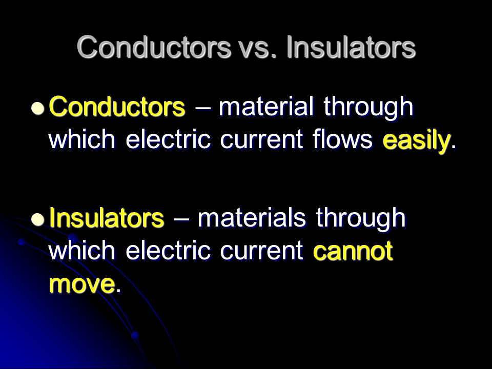 There are 2 types of currents: Alternating Current (AC) – electrons flow in different directions in a wire Alternating Current (AC) – electrons flow in different directions in a wire
