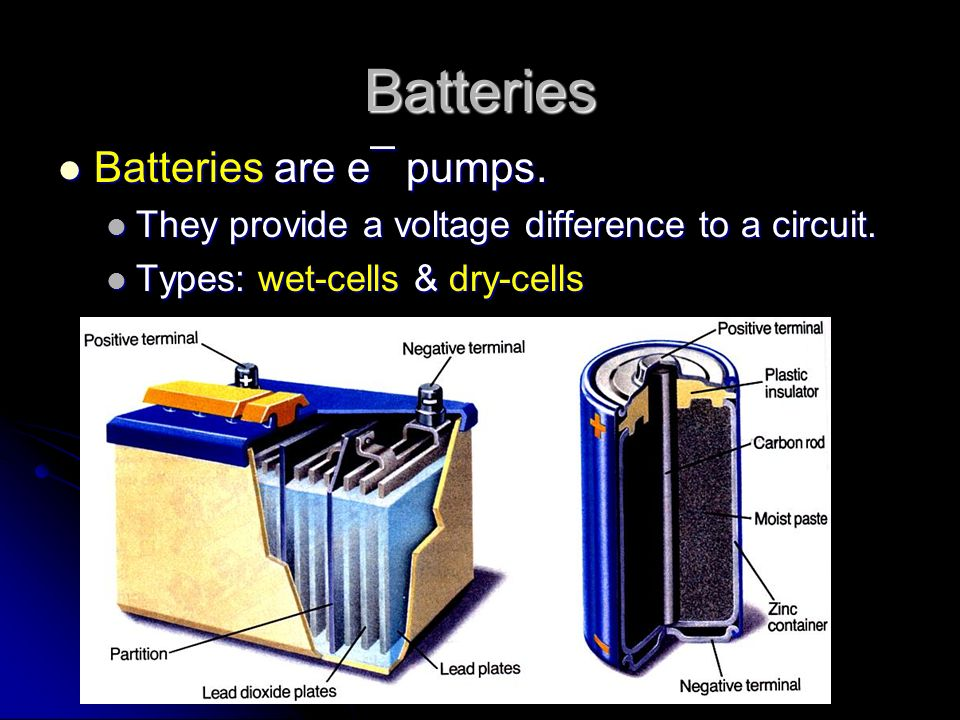 Electric Current The reason electric charge flows from one place to another is voltage.