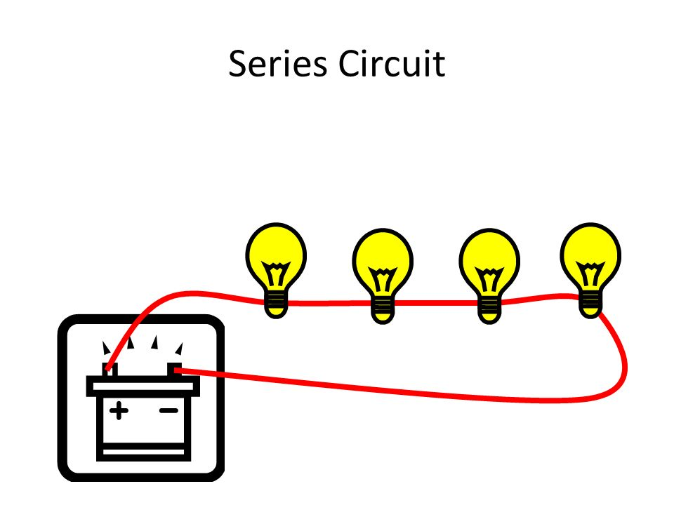 There are 2 types of circuits: Series Circuit one Series Circuit: the components are lined up along one path.