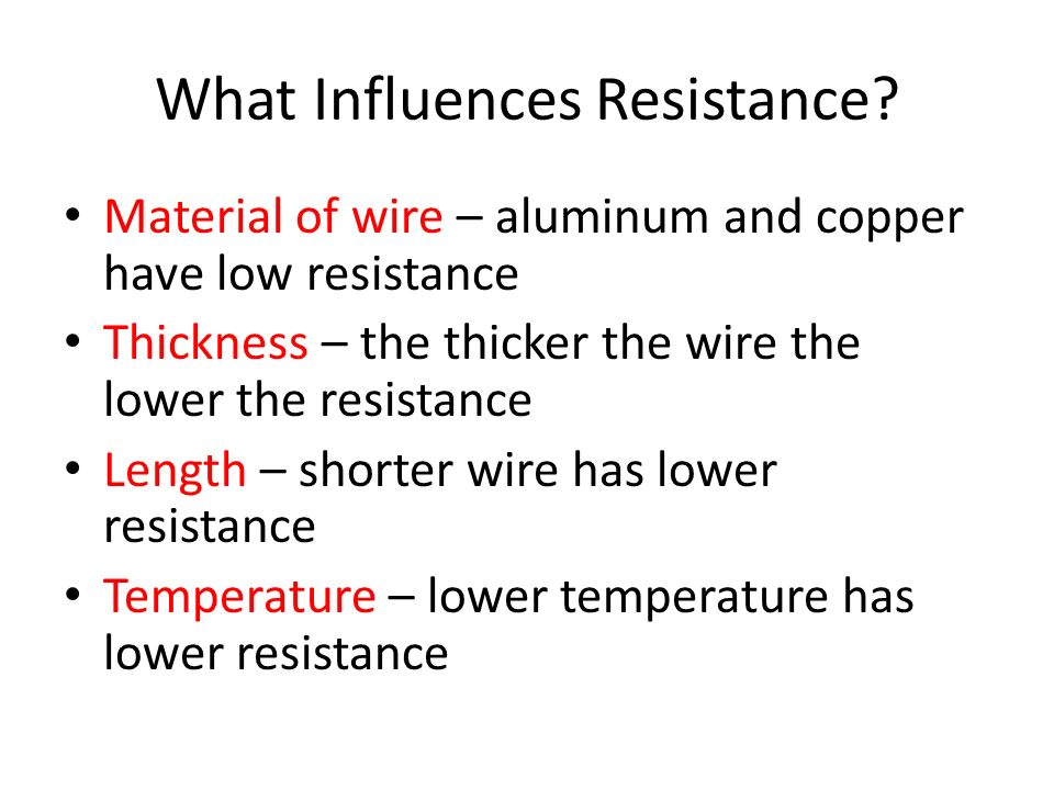 What is Resistance.
