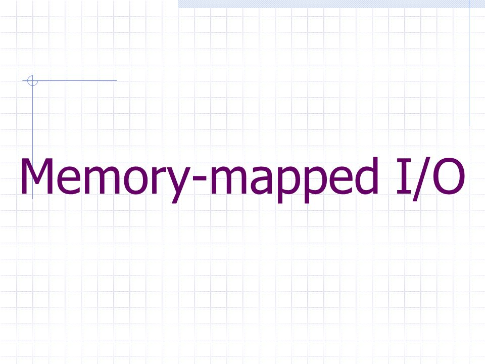 Memorymapped IO Mapping Loose Definition To Transform Something - Data mapping definition