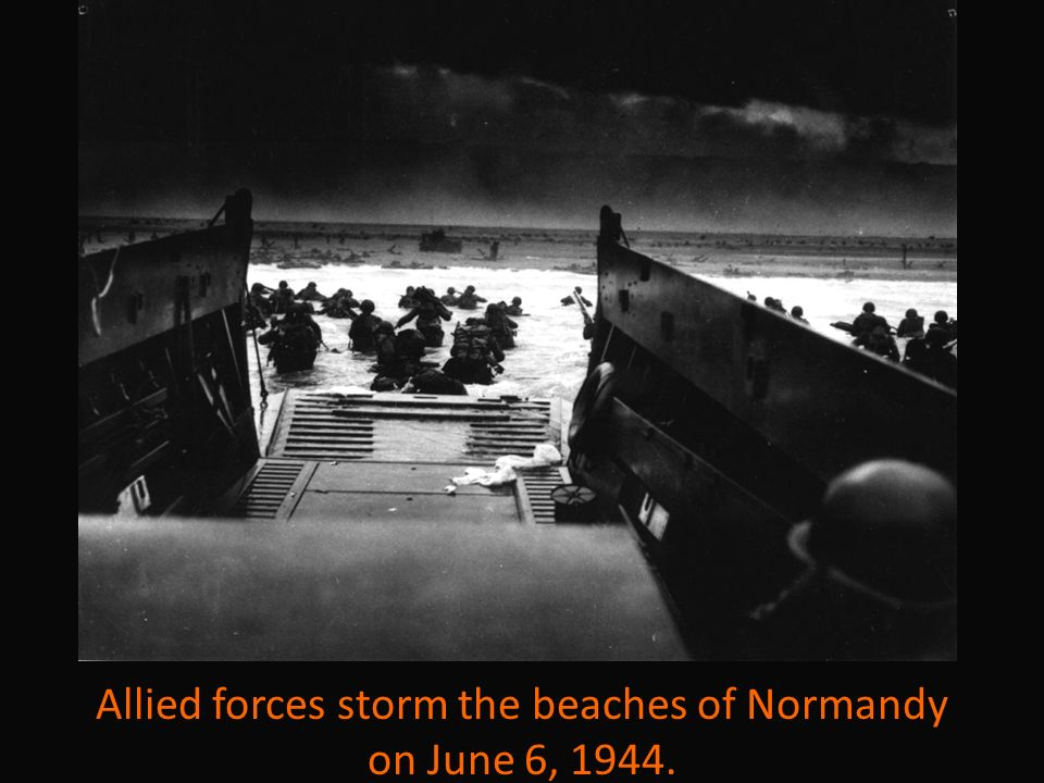 an analysis of the allied invasion of france on june 6 1944 During world war ii, the allied invasion of france on d-day (june 6, 1944) was significant because it.