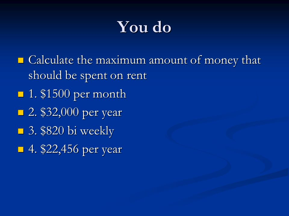 How much rent can i afford? | renthop.