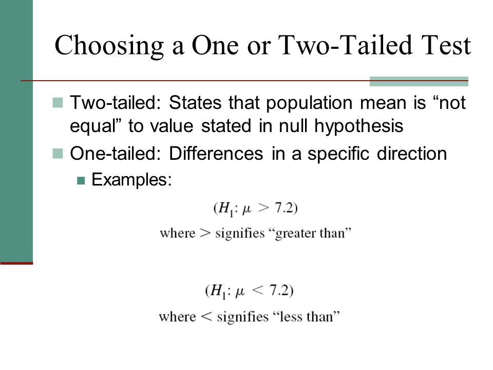 Week 8 Chapter 8 Hypothesis Testing I The One Sample Case Ppt