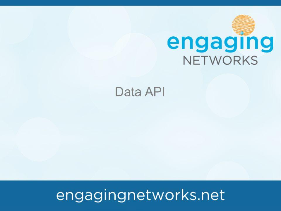 Data API  AO database List builder Export API User data