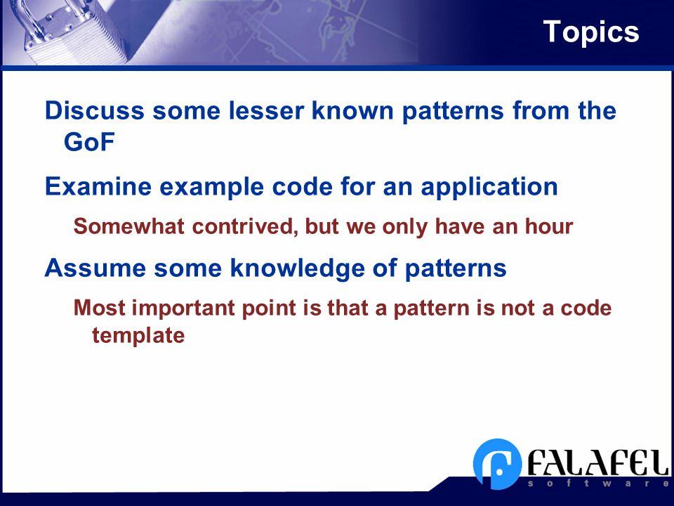More Design Patterns In Delphi Jim Cooper Falafel Software