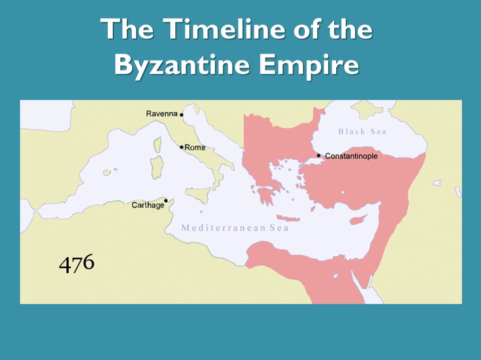 The Timeline of the Byzantine Empire