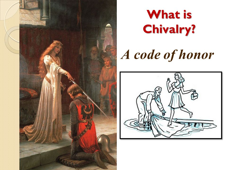 What is Chivalry A code of honor