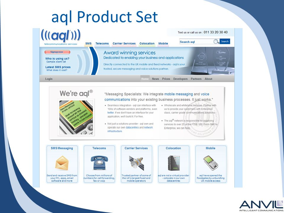 aql Product Set