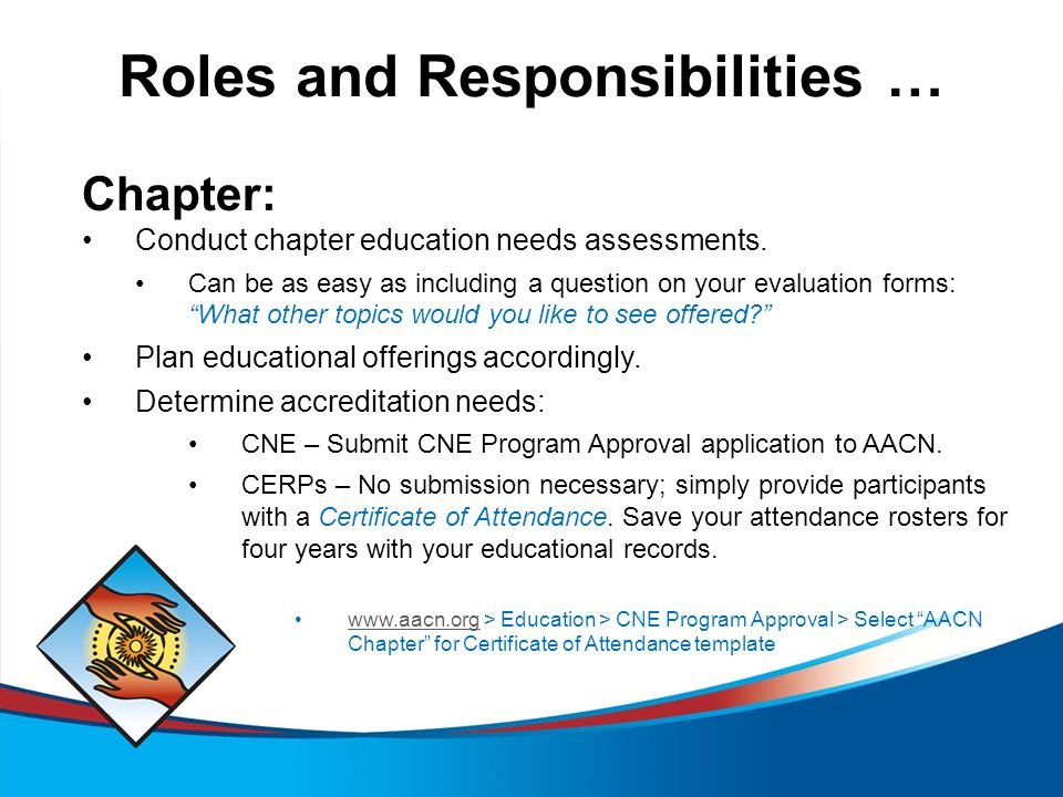 AACN CNE Program Approval for Chapters Effective 9/15/ ppt