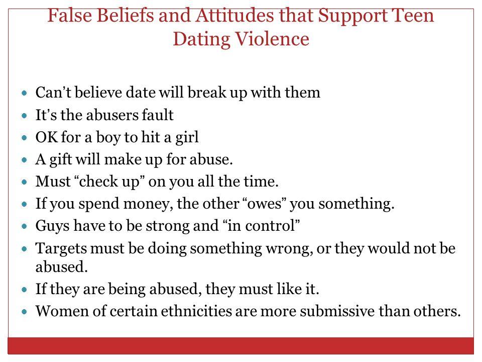 Is teenage dating wrong