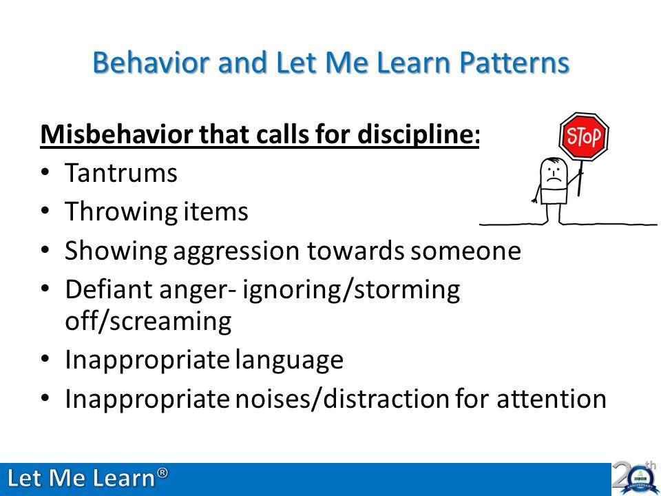 Modifying Behaviors Based on LML Data: A Win-Win for Teacher
