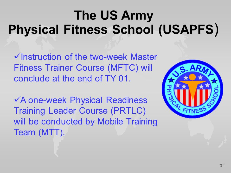 1 The Proposed Army Physical Readiness Test Aprt Ppt Download