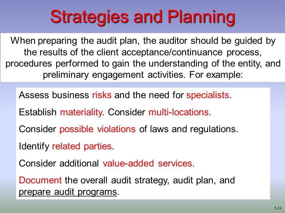 audit planning pdf