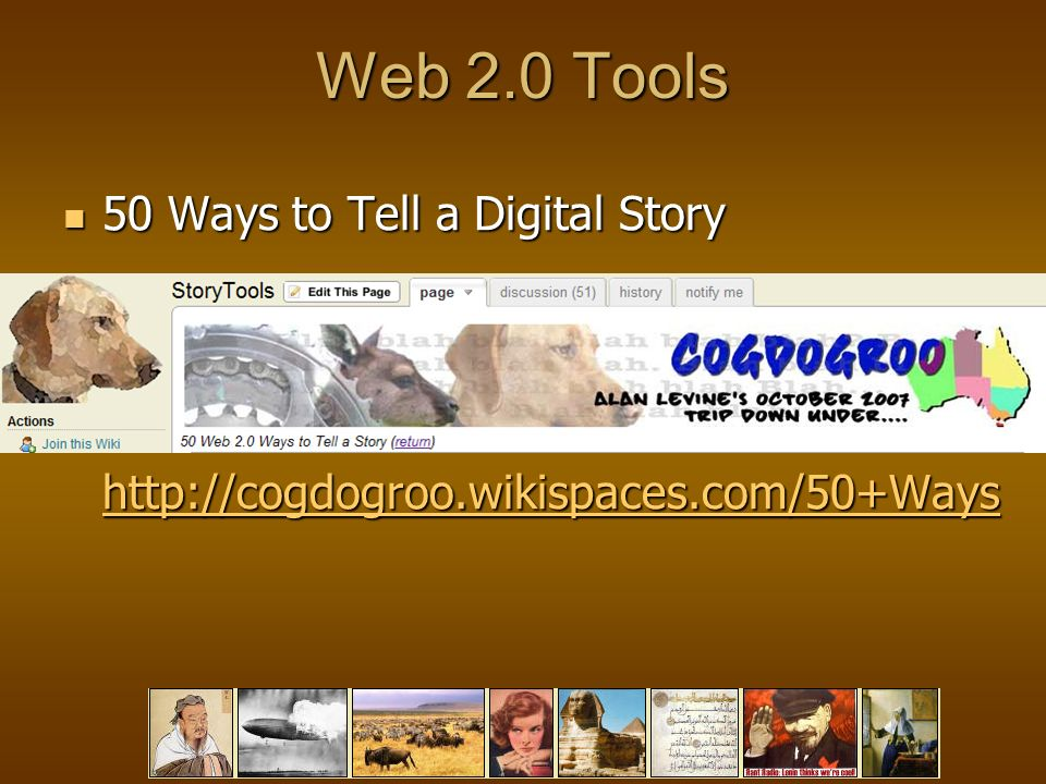 Web 2.0 Tools 50 Ways to Tell a Digital Story   50 Ways to Tell a Digital Story