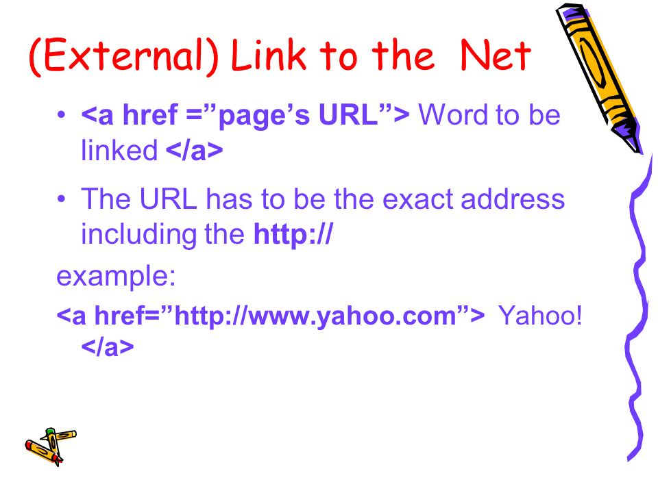 Adding Hyperlinks To a Web Page  Hyperlink and Its Add-Ons