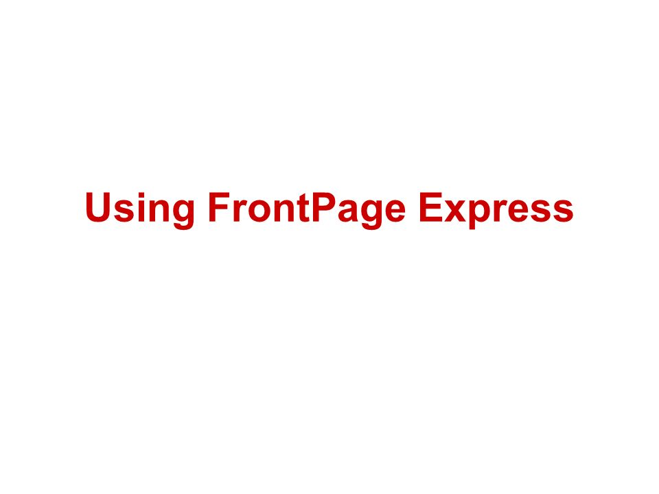 Frontpage alternatives -webhostingbuzz wiki.