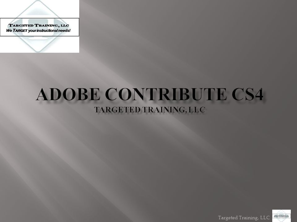 Targeted Training, LLC  APPLYING STYLES DOWNLOAD FREE TRIAL OF ADOBE
