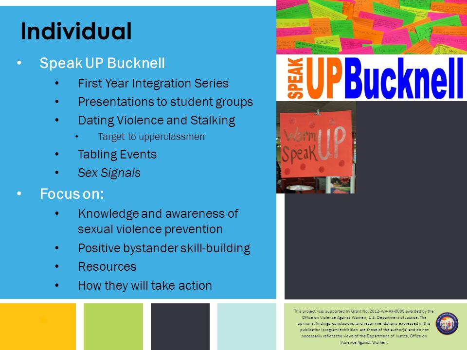 Dating violence prevention grants