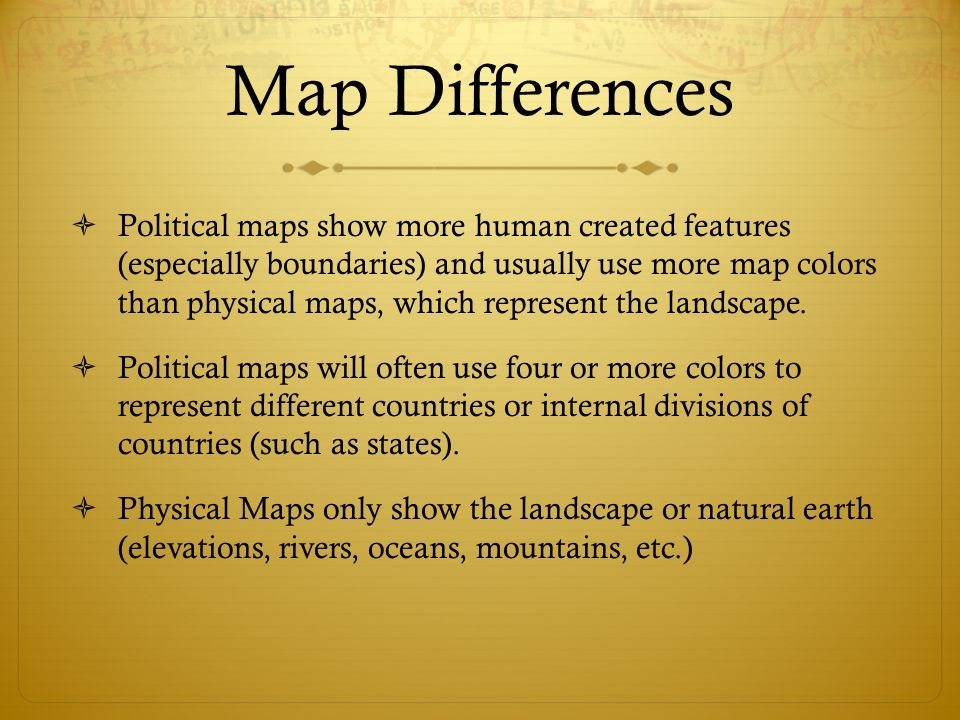 Political And Physical Maps Using Map Color Cartographers Map
