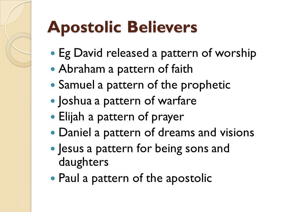 """Apostolic Believers """"Ordinary people Extraordinary Power"""" Apostolic"""