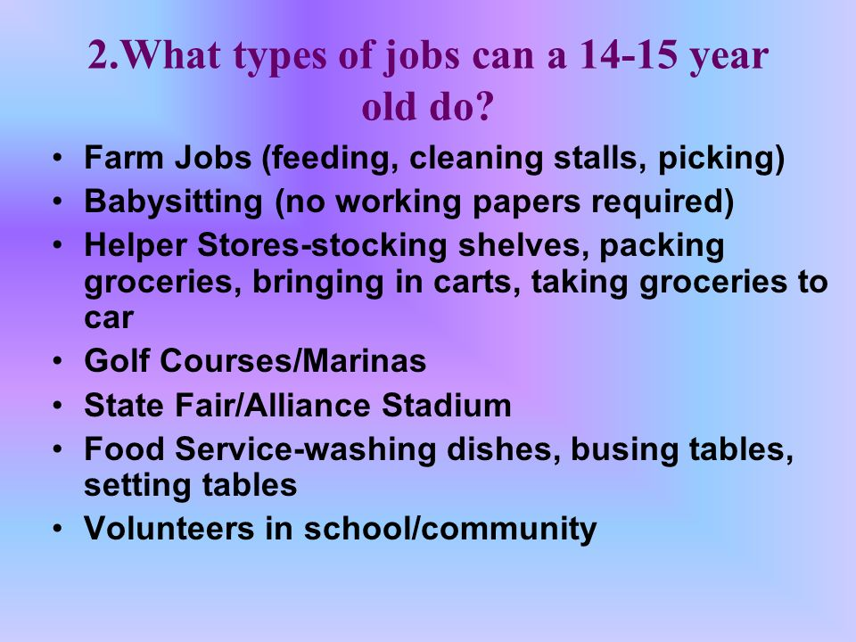 Good For Two Years 1 You Need Working Papers If You Want A Job You Are Between The Ages Of 14 And Ppt Download