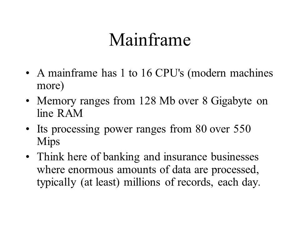 4 Mainframe