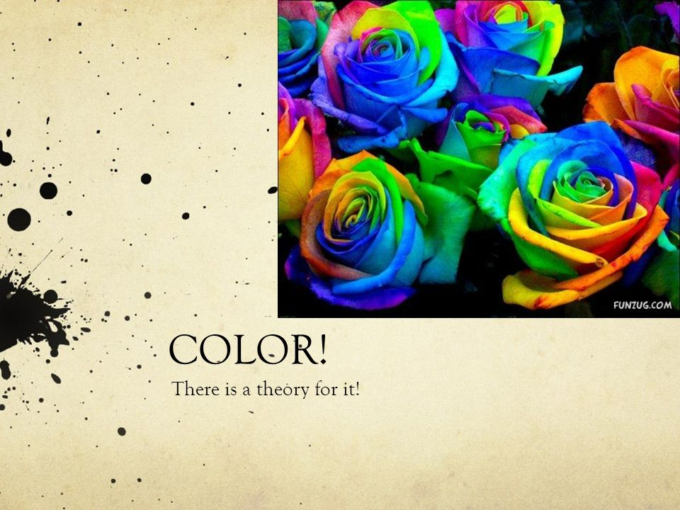 COLOR! There is a theory for it!