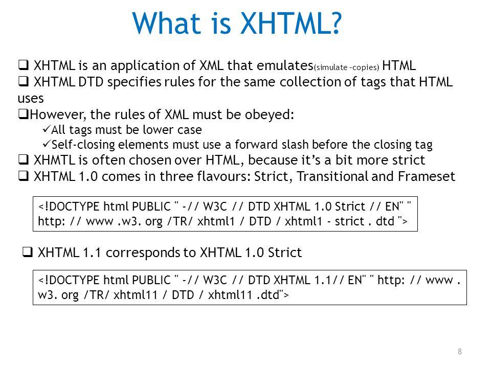 Lecture 13 – XML and JSON SFDV3011 – Advanced Web