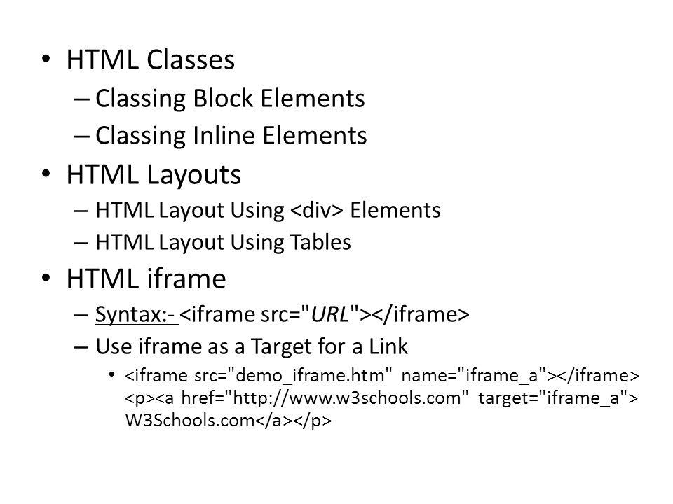 HTML  Basic HTML HTML document – HTML headings – to HTML