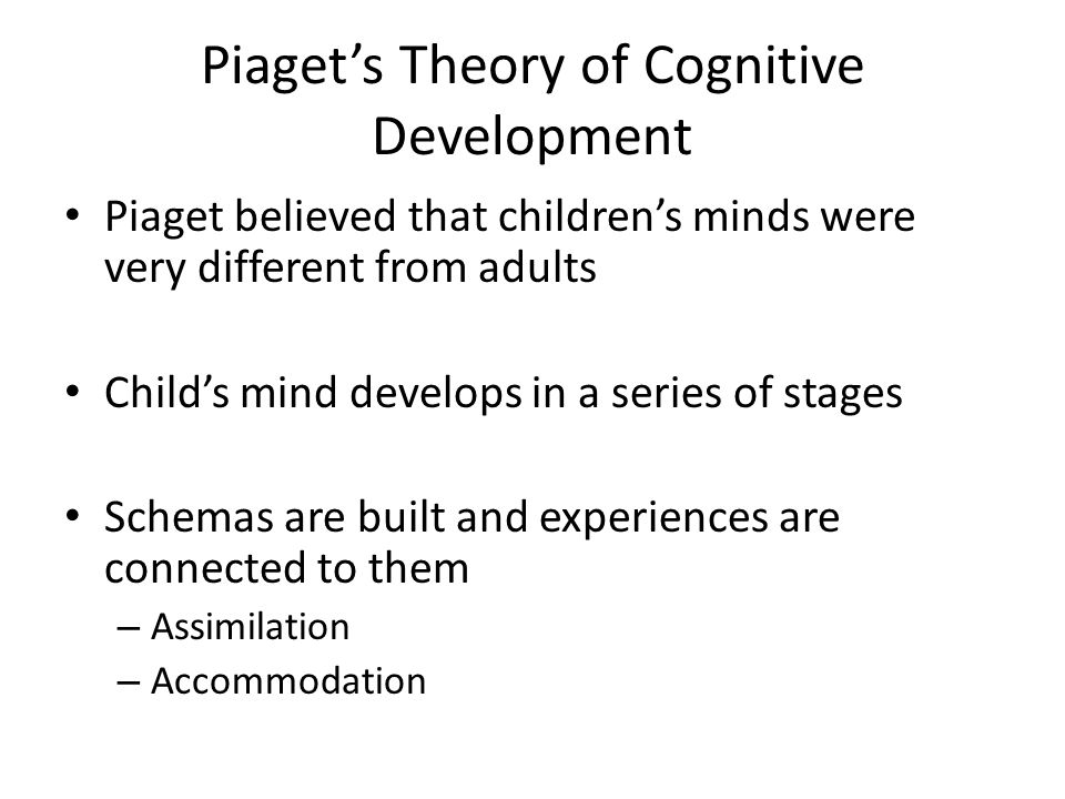 theory of mind piaget