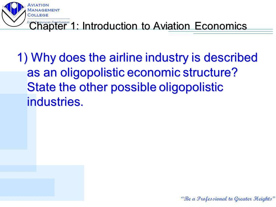 Ave Final Exam Final Exam Preparation  Questions Essay Format  Chapter  Introduction To Aviation Economics  Why Does The Airline  Industry Is Described