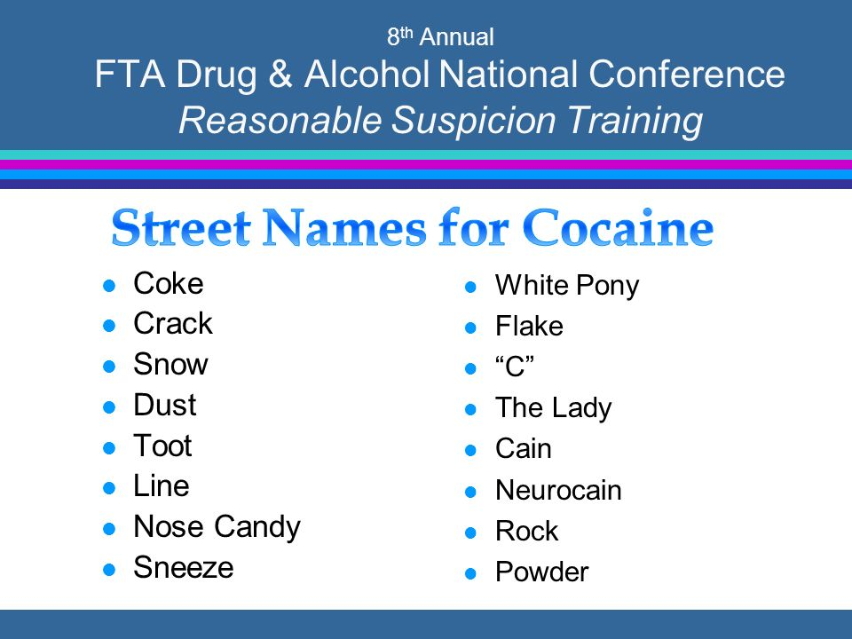 8 th Annual FTA Drug & Alcohol National Conference  - ppt download