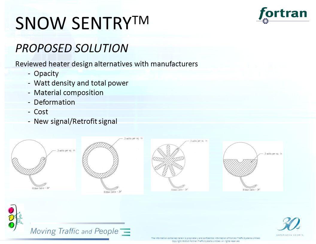 SNOW SENTRY TM The information contained herein is