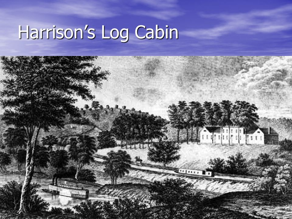 Harrison's Log Cabin