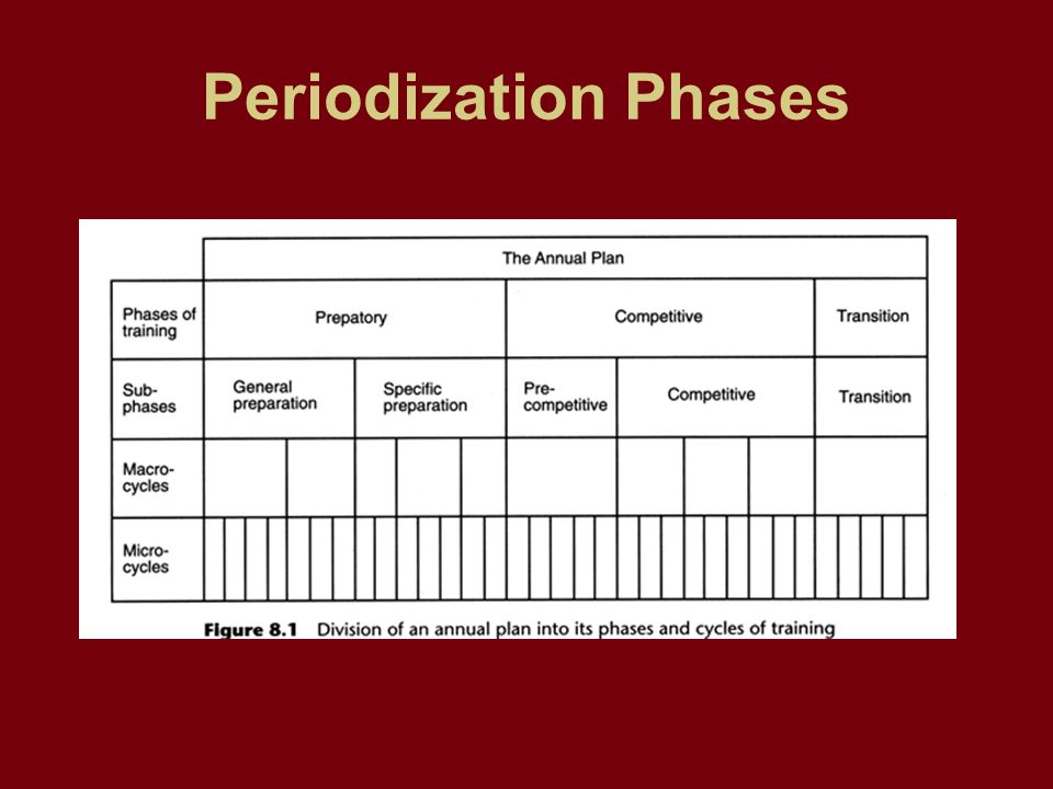 GR  12 FITNESS Health Unit 2 Periodization  What is