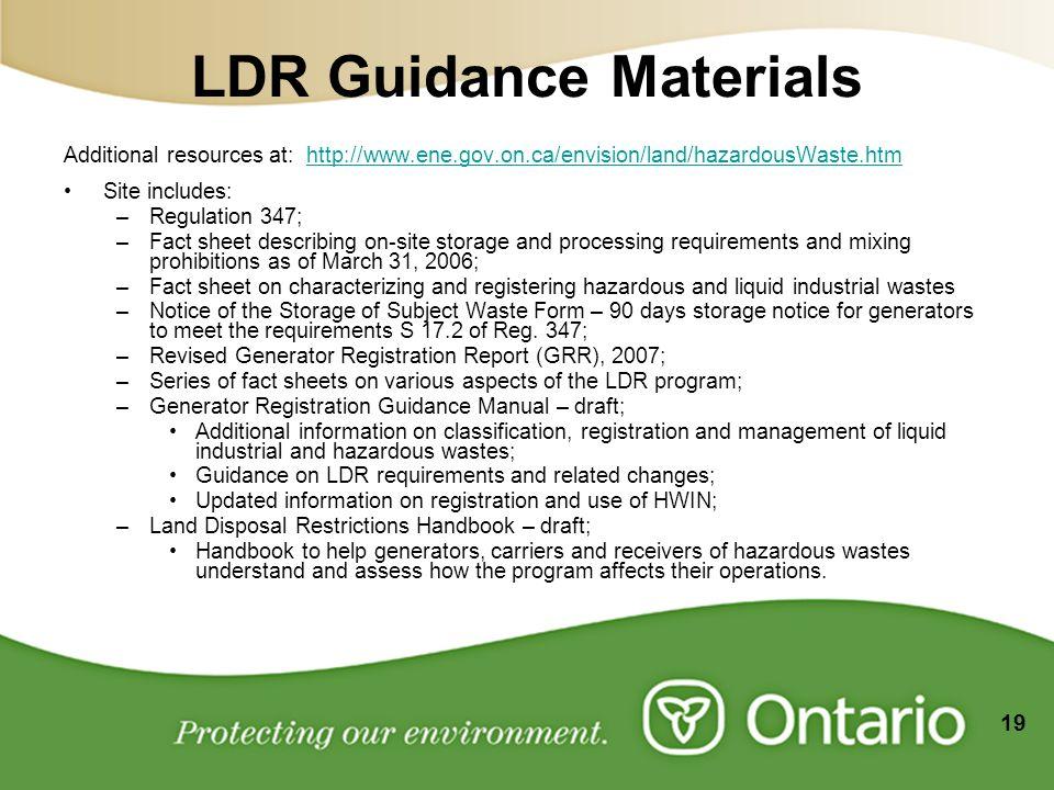 Waste Management Overview & Land Disposal Restrictions. - ppt download