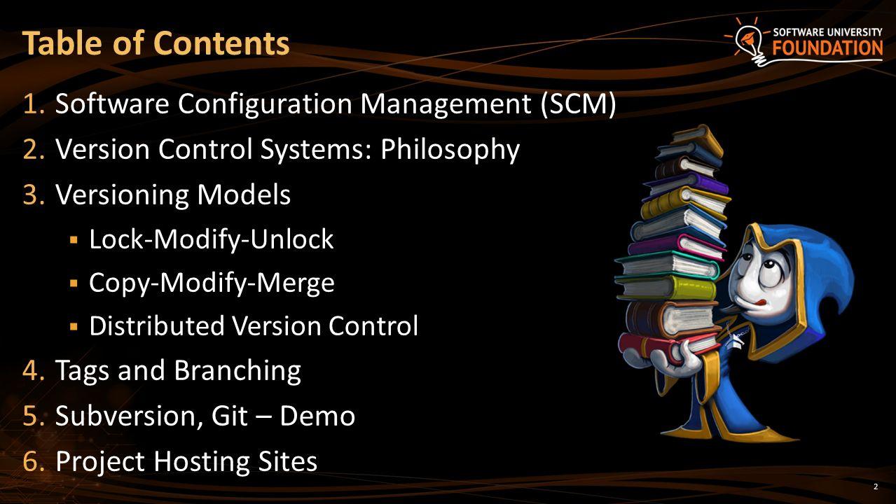 Source Control Systems SVN, Git, GitHub SoftUni Team