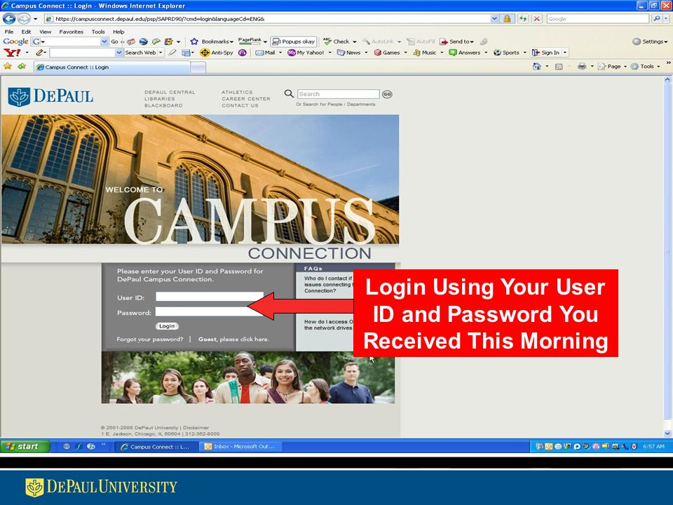 Information Services Overview An introduction to DePaul's